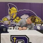 Dreier Signs with Cedarville University
