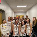Varsity Girls earn a W in the Warrior Center against the Broncos