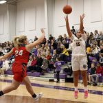 Lady Warriors finish strong against the Rams