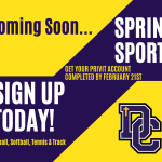 Spring Sports Begins in Seven Days