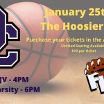 Purchase Tickets for Basketball Games in the Hoosiers Gym