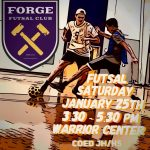 Upcoming Futsal Club Dates