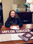 Collins Signs with Taylor for 2021 Women's Soccer Season
