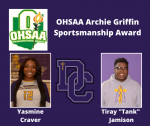 2019-2020 Athletic Awards: OHSAA Archie Griffin Sportsmanship Award