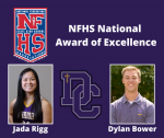 2019-2020 Athletic Awards: NFHS National Award of Excellence