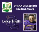 2019-2020 Athletic Awards: OHSAA Courageous Student Award