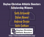 2019-2020 Athletic Awards: Booster Club Scholarship Winners