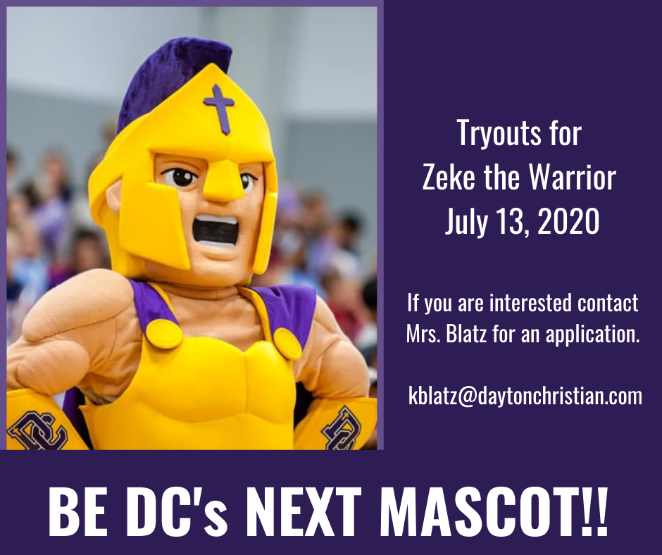 'Zeke the Warrior' Tryouts