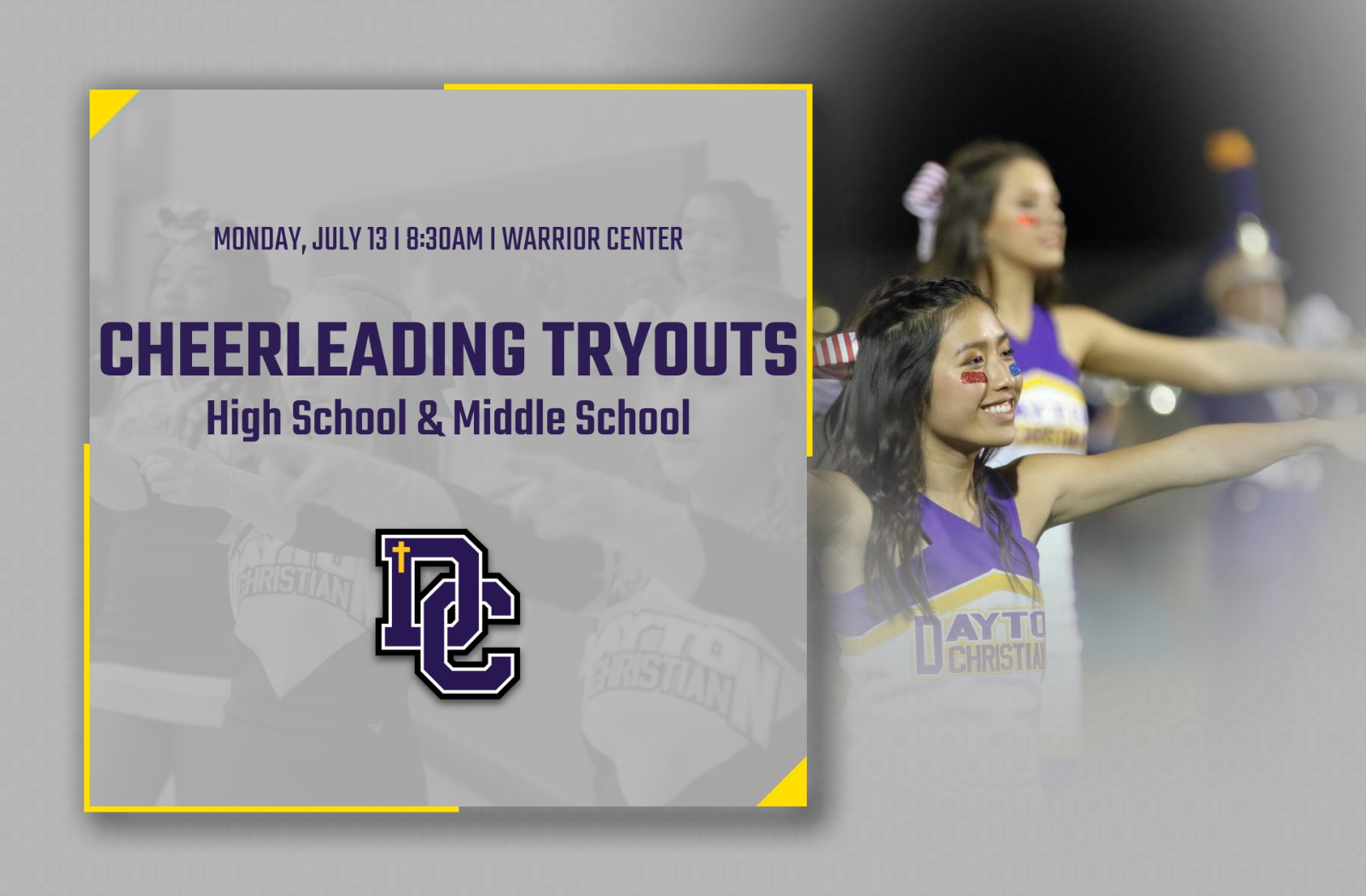 2020-2021 Cheerleading Tryouts