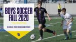 2020 Boys Soccer Season Information