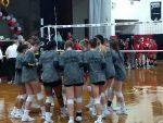 DC Varsity Volleyball Sweeps Greenon