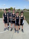 Middle School Boys Finish 2nd at the Covington Invitational