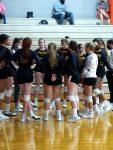 Dayton Christian Varsity Volleyball Sweeps Waynesville 3-0