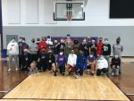 Boys Middle School Basketball Teams Complete Service Project