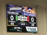 Warriors Defeat Buccaneers on Senior Night