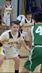 7th Grade Boys Basketball Notch Home Win Over Yellow Springs