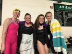 Girls Swimmers Advance to OHSAA Districts