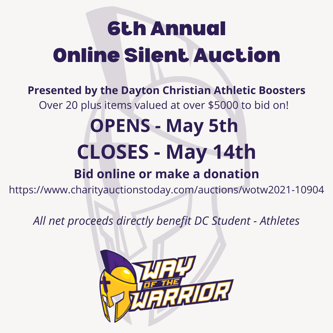 Annual Online Silent Auction is LIVE; Place Your Bid Today