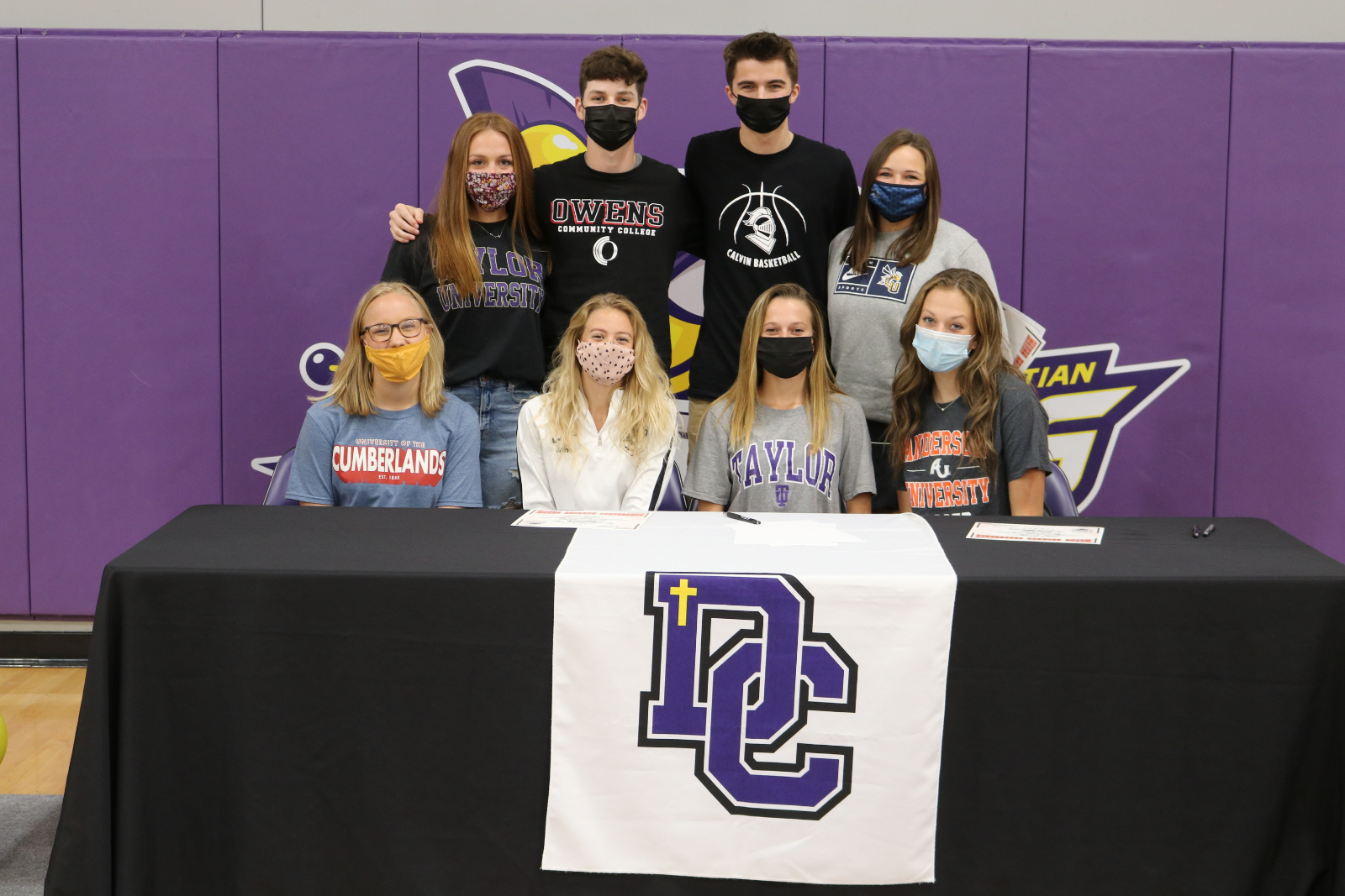 Eight Warriors sign to compete at the Next Level