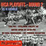 IHSA Football Playoffs – Round 2 #WeAreMCUSD