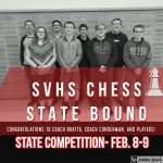 SVHS Chess is STATE Bound! #WeAreMCUSD