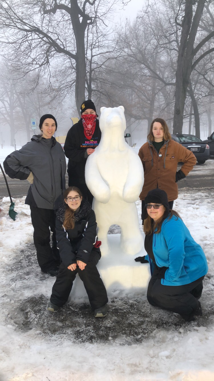 ART CLUB: 34th Annual Illinois Snow Sculpting Competition