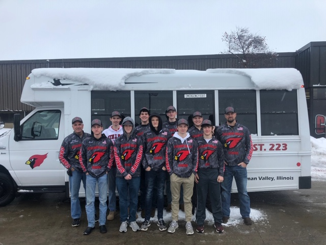 BASS FISHING: SVHS Bass Fishing team attends Chicago Fishing Show