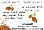 SVHS Student Council: Fall Yard Work Fundraiser