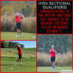 Boys Golf: Three Advance to the IHSA Sectionals
