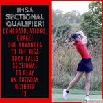 Girls Golf: One Advances to the IHSA Sectional