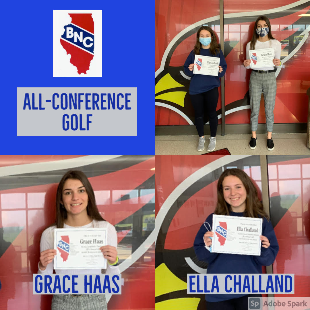Girls All Conference Golf