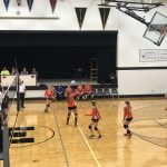 JV and Varsity VB @ Ellsworth 8/21/18