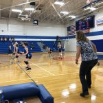Girls Middle School Volleyball vs Forest Area Middle School