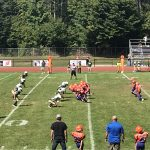 Boys Pop Warner Football vs TC Titans