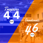 Girls Varsity Basketball falls to Onaway 46 – 44