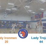 Girls Varsity Basketball beats Mancelona 44 – 20