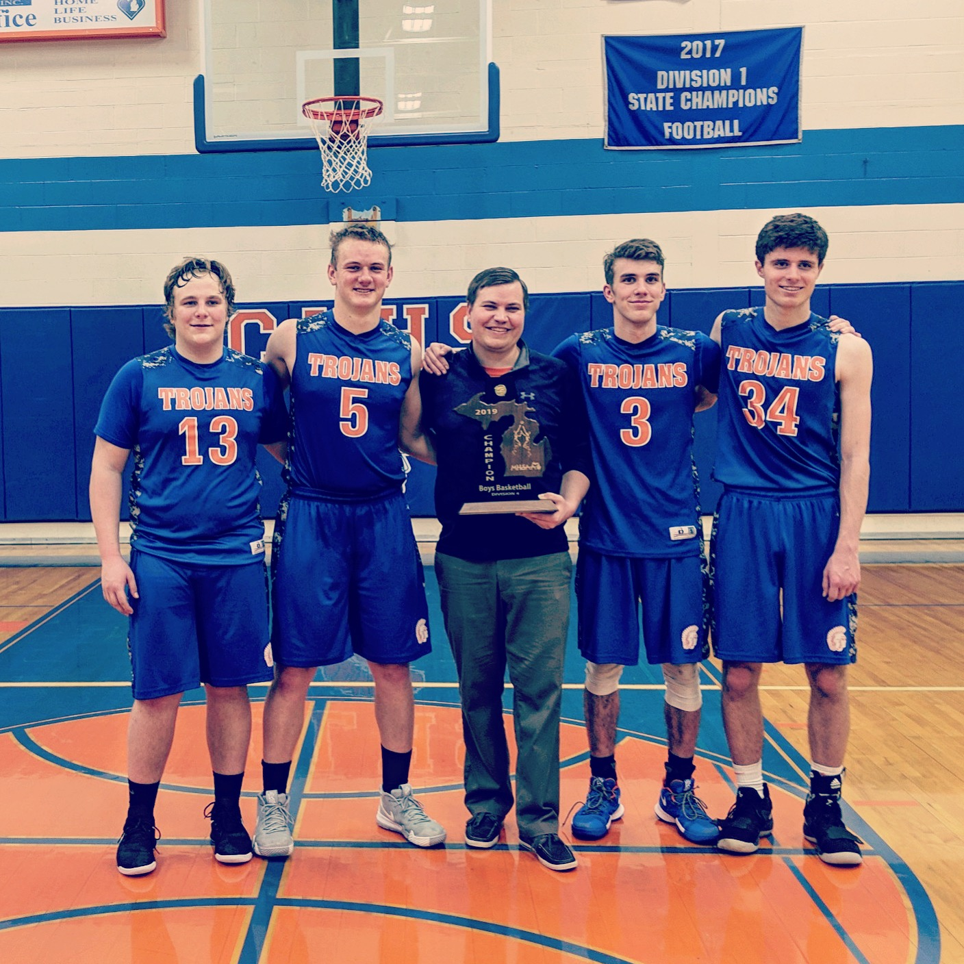 Trojans Win Districts, Moving On To Regionals Second Year In A Row