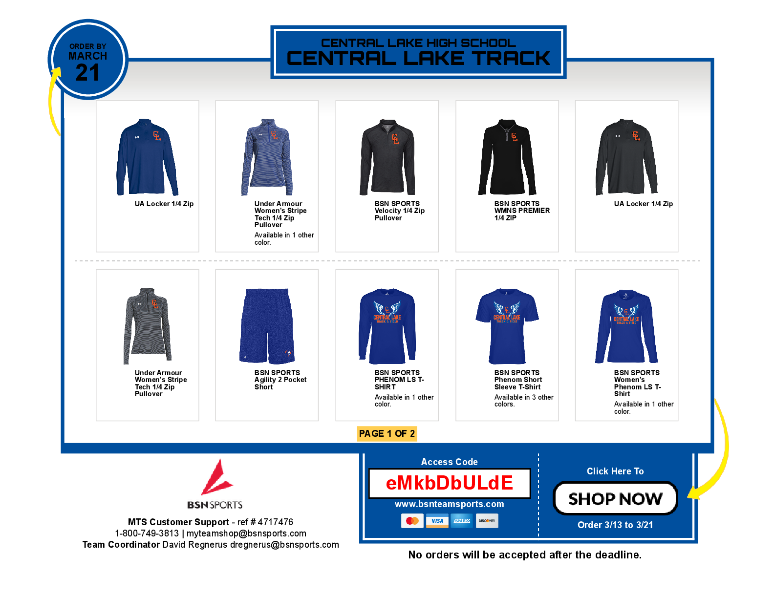 New Baseball & Softball Spirit Store Is Open For A Short Time!!!