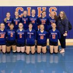 Lady Trojans Sweep Lady Lancers at Home Opener