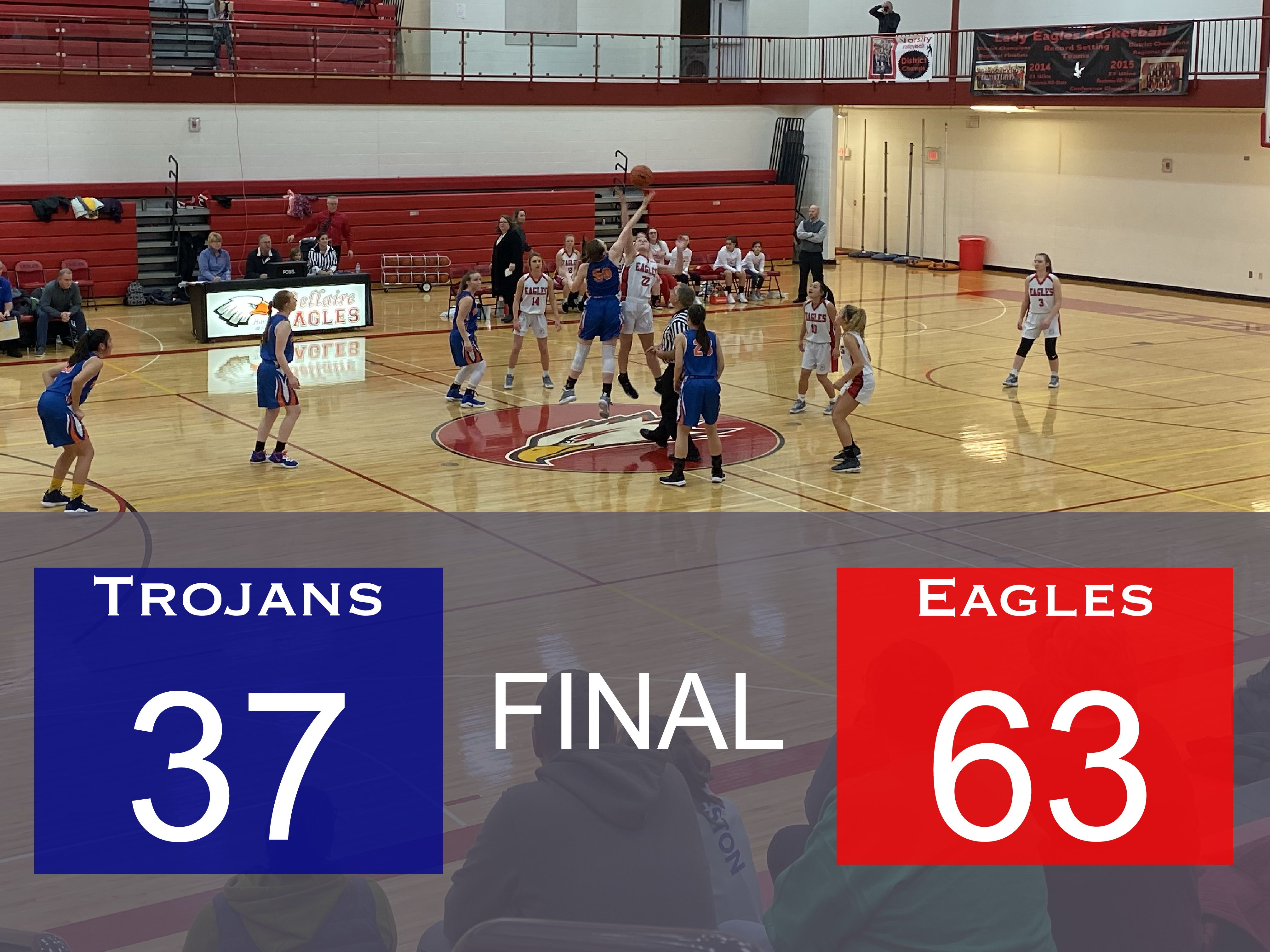 Lady Trojans Lose On The Road In Bellaire
