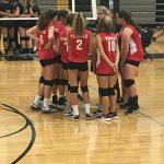 Girls Freshman Volleyball falls to Paola 2 – 1