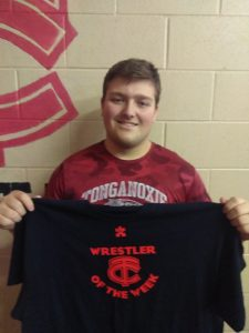 Wrestler of the week 12/1/18