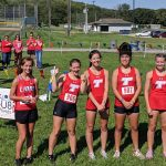 XC Girls Cross Country Competes in Dual with Lansing