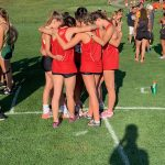 Girls Cross Country Competes at Wamego