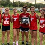 JV and Varsity Girls XC both take first at home meet