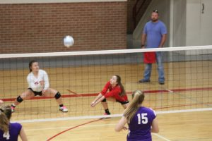 Freshman VB v Piper Sept 30 (2-1)  16-25/27-17/15-7