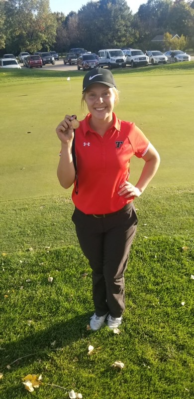 Girls Golf has first all-state golfer