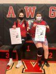 Girls Wrestling Adds to Regional Champions!