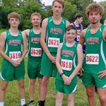 Boys Varsity Cross Country Competes in first Meet