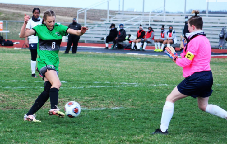 Mid-Buchanan wins inaugural soccer game!